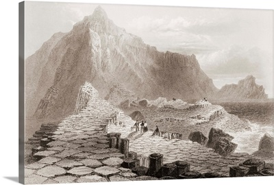The Giant's Causeway, County Antrim, Ireland, 1860s