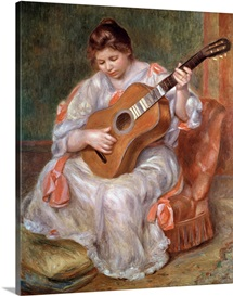 The Guitar Player, 1897 (oil on canvas)