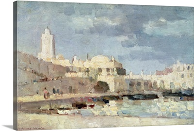 The Harbour at Algiers, 1876