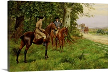 The Highwaymen (oil on canvas)