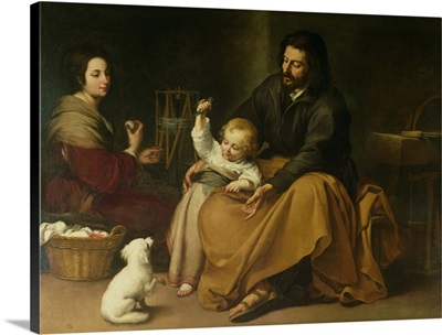 The Holy Family with the Little Bird, c.1650