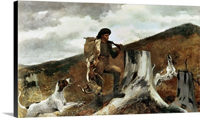 The Hunter and his Dogs, 1891