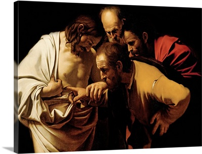The Incredulity of St. Thomas, 1602-03