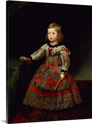The Infanta Maria Margarita (1651-73) of Austria as a Child
