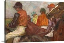 The Jockeys, c.1882 (oil on canvas)