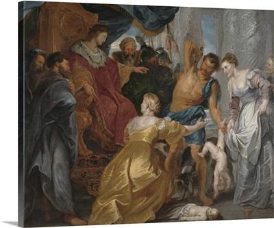 The Judgement of Solomon, c. 1617