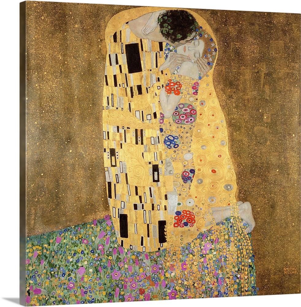 The Kiss, 1907 08