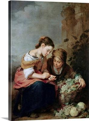 The Little Fruit-Seller, 1670-75