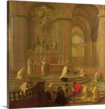 The Mass Of Canon Antoine De La Porte Or The Altar Of Notre Dame - Canon porte