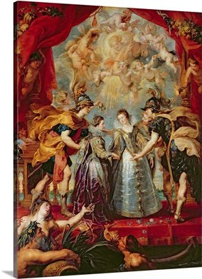 The Medici Cycle: Exchange of the Two Princesses of France and Spain