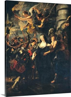 The Medici Cycle: Marie de Medici (1573-1642) Escaping from Blois