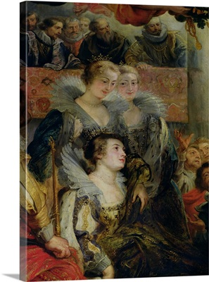 The Medici Cycle: The Coronation of Marie de Medici (1573-1642) at St. Denis