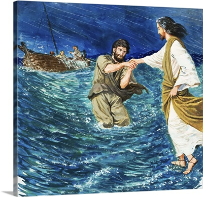 The Miracles of Jesus: Walking on Water
