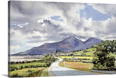 The Mountains of Mourne from near Dundrum