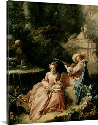 The Music Lesson, 1749