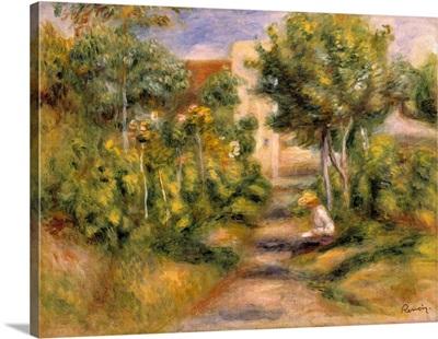 The Painter's Garden, Cagnes, c.1908