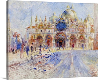 The Piazza San Marco, Venice, 1881