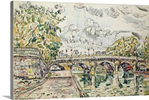 The Pont Neuf, Paris, 1927 (w/c)