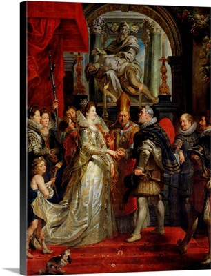 The Proxy Marriage of Marie de Medici and Henri IV