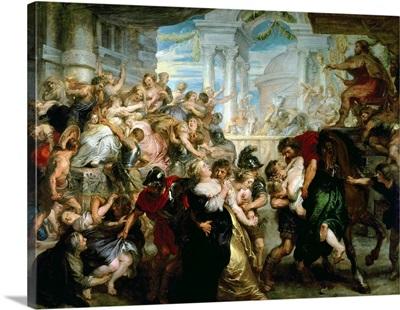 The Rape of the Sabine Women, c.1635 40