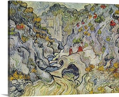 The ravine of the Peyroulets, 1889