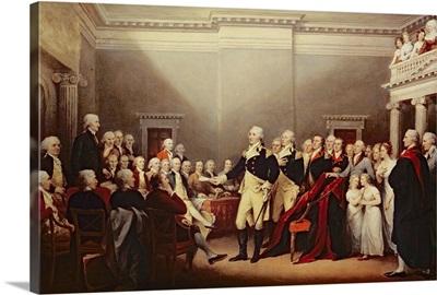 The Resignation of George Washington on 23rd December 1783, c.1822
