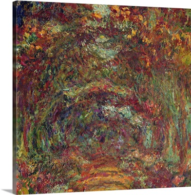The Rose Path, Giverny, 1920-22