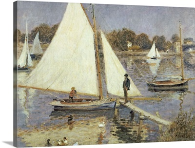 The Seine at Argenteuil, 1874