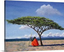 The Shady Tree, 1992 (oil on canvas)