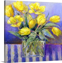 The Tank of Tulips (oil on canvas)