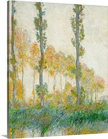 The Three Trees, Autumn, 1891 (oil on canvas)