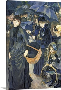 The Umbrellas, c.1881 6 (oil on canvas)