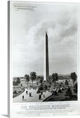 The Washington Monument and Surroundings, North View