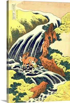 The Waterfall where Yoshitsune washed his horse, no.4
