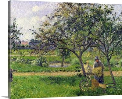 The Wheelbarrow, Orchard, c.1881