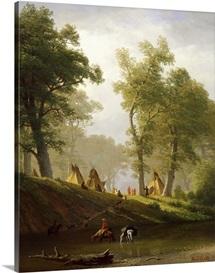 The Wolf River, Kansas, c.1859