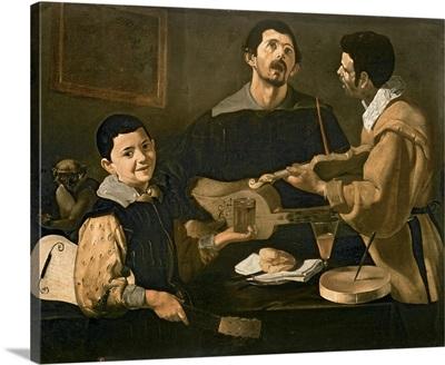 Three Musicians, 1618
