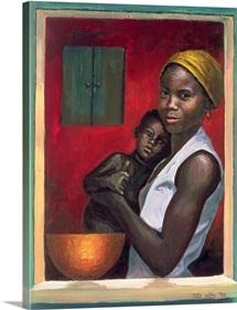 Through the Window, 1992 (oil on canvas)