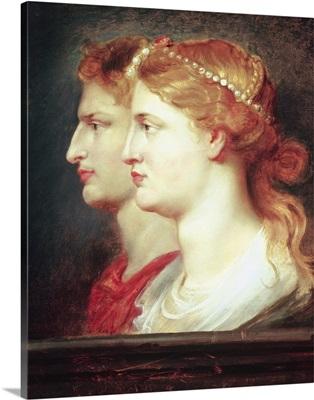 Tiberius (42BC 37AD) and Agrippina, c.1614
