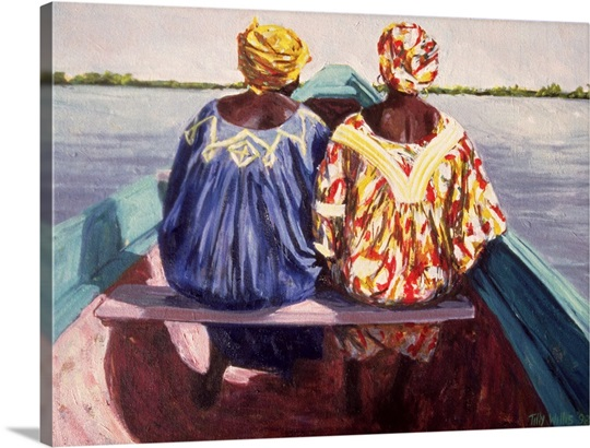 To the Island, 1998 (oil on canvas)