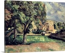 Trees in a Park, Jas de Bouffan, 1885 87 (oil on canvas)