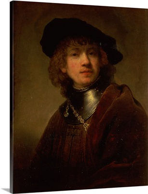 Tronie of a Young Man with Gorget and Beret, c.1639