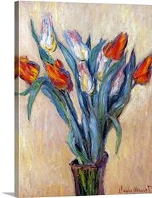 Tulips, 1885 (oil on canvas)