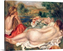Two Bathers, 1896 (oil on canvas)