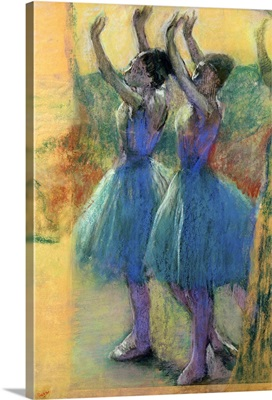 Two Blue Dancers