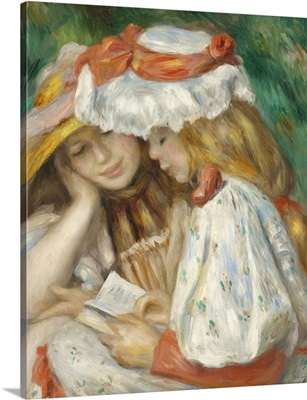 Two Girls Reading, 1890-1
