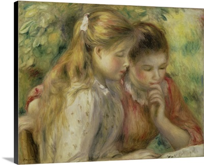 Two Girls Reading, 1892