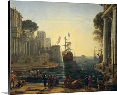 Ulysses Returning Chryseis to her Father