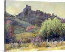 Vaison La Romaine, Vaucluse (oil on canvas)