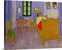 Van Goghs Bedroom at Arles, 1889 (oil on canvas)